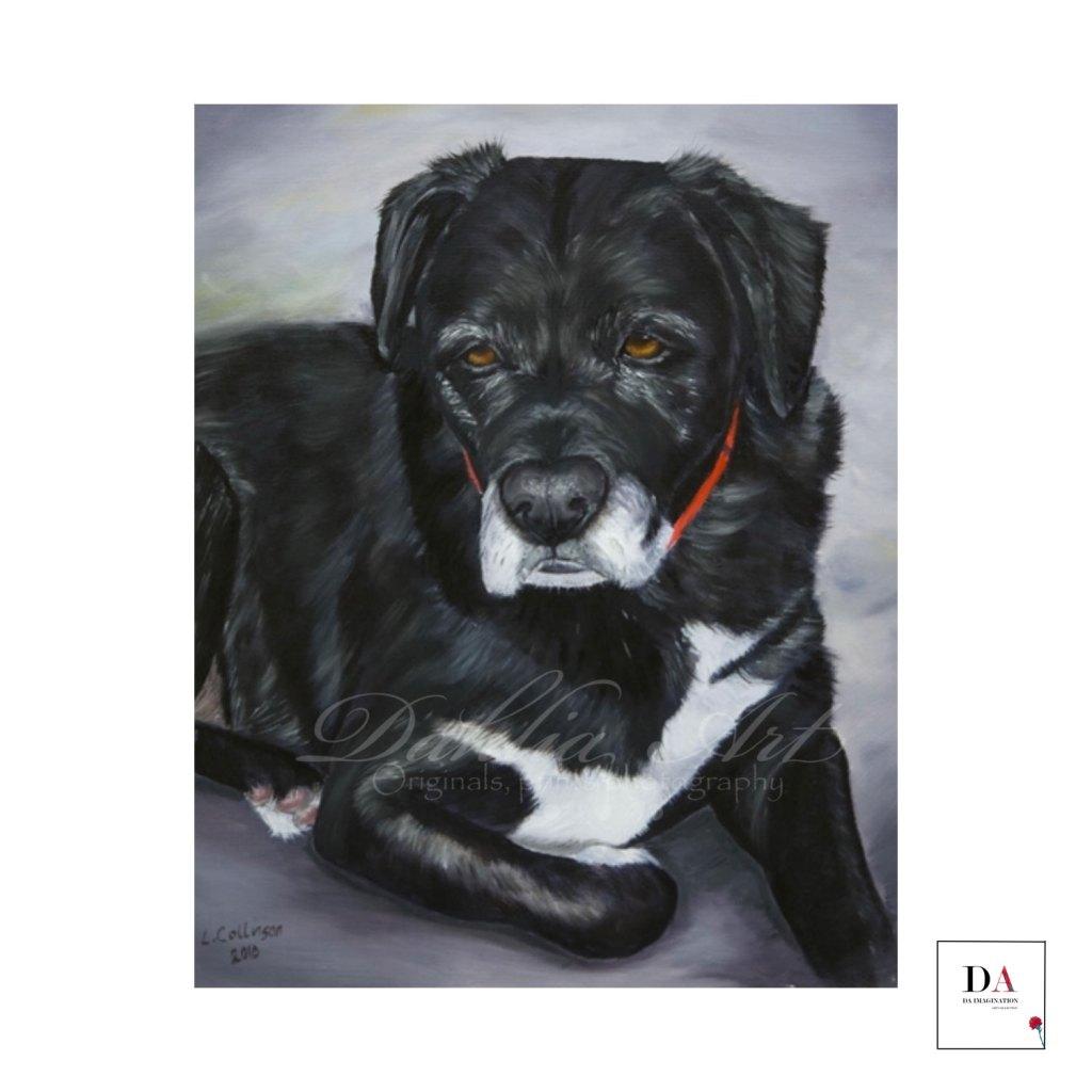 Martin, oil on canvas
