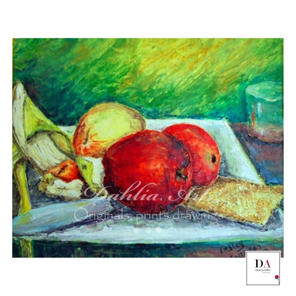 Breakfast in Seville, oil on canvas