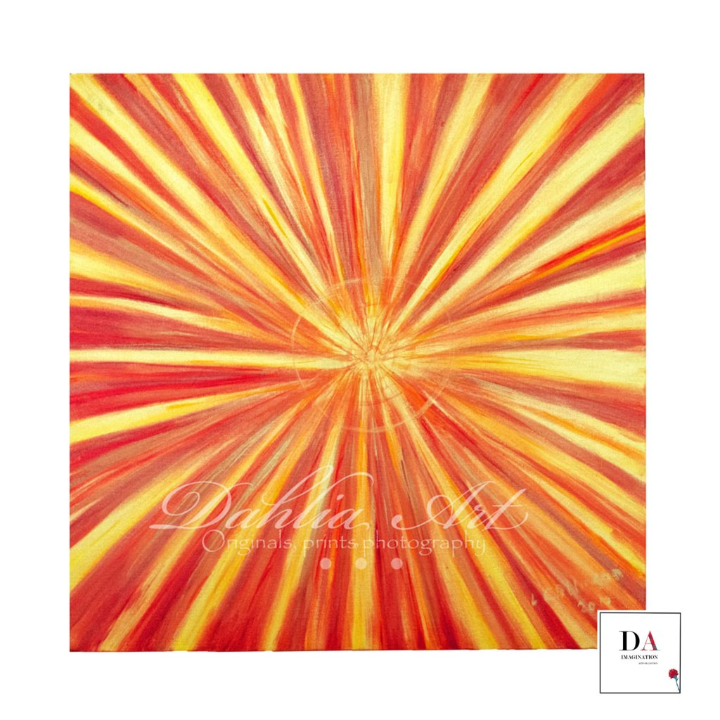 Infinite energy, Acrylic on canvas