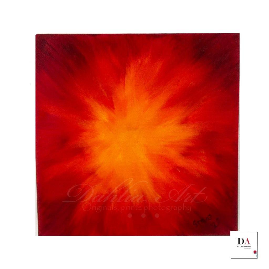 Inner Fire, oil on canvas