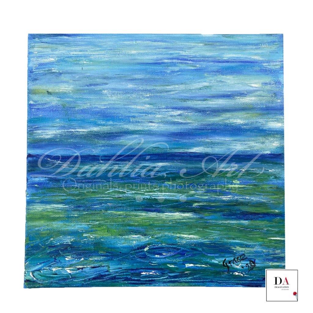 At Sea on canvas