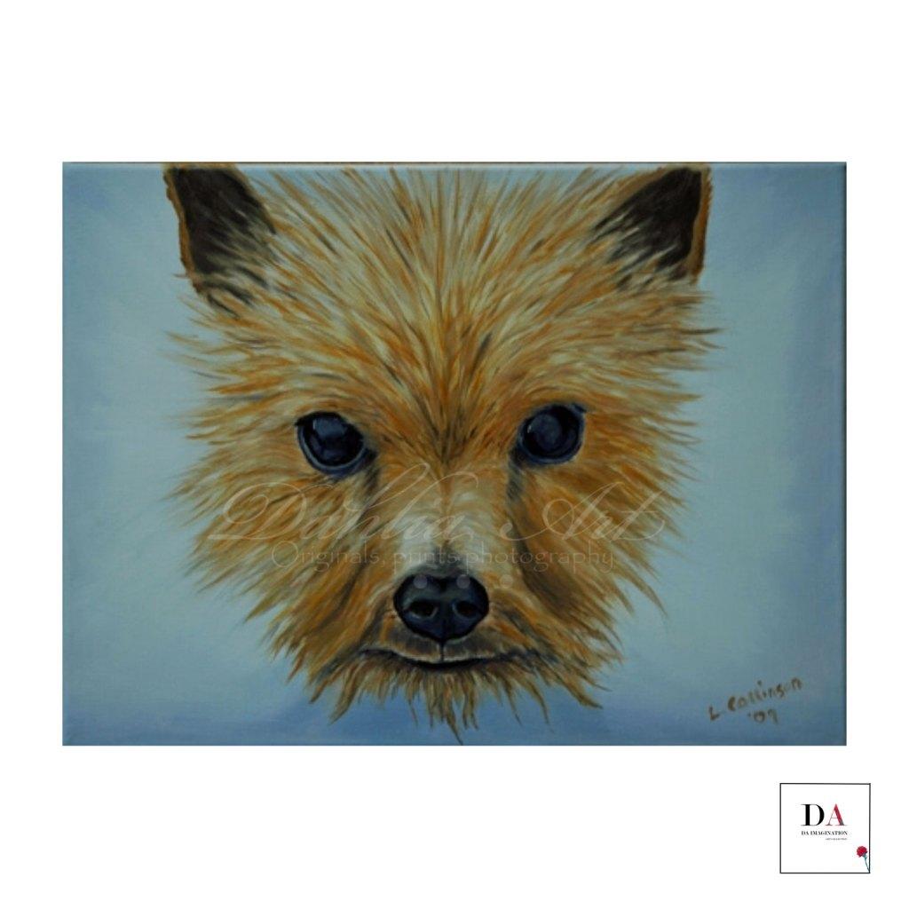 Spirit of Rupert Oil on canvas