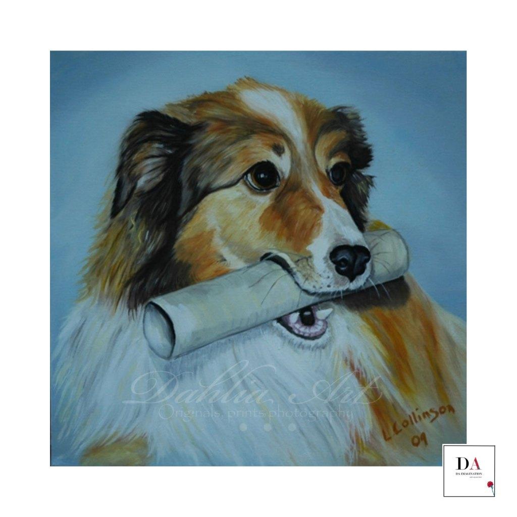 Christy, oil on canvas