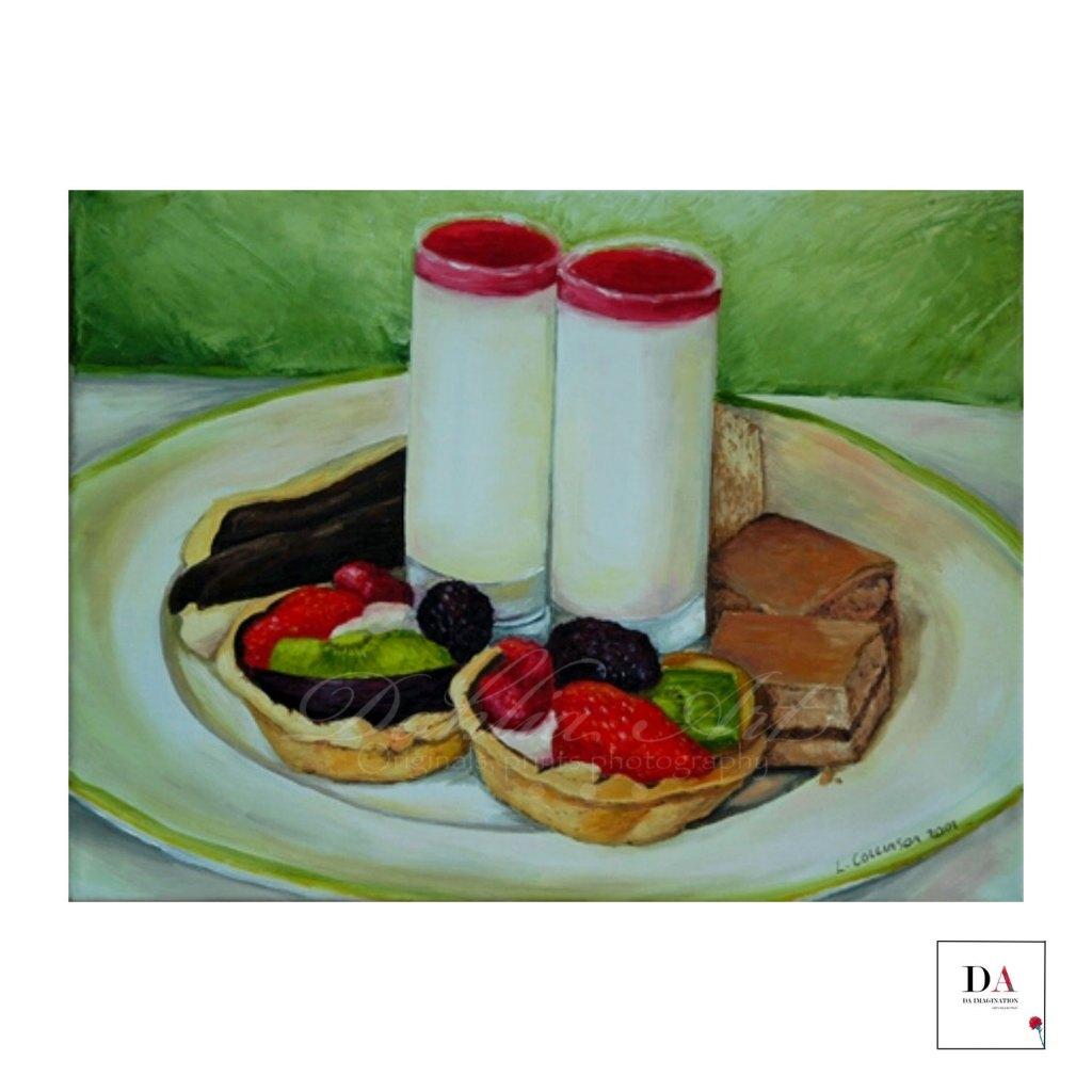 Afternoon Tea, Oil on canvas