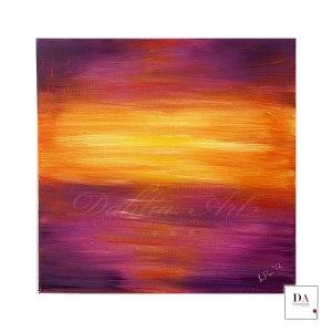 Vibrant oil on canvas